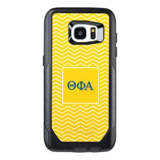 Phi het Alpha- | van de theta Patroon van de OtterBox Samsung Galaxy S7 Edge Hoesje