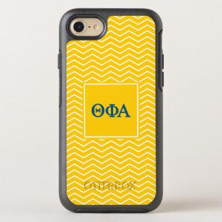 Phi het Alpha- | van de theta Patroon van de OtterBox Symmetry iPhone 8/7 Hoesje