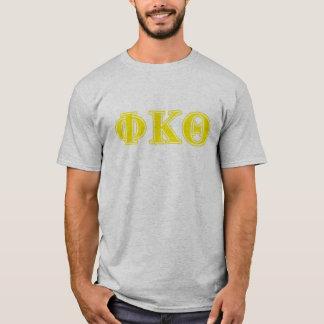 Phi Kappa de Gele Brieven van de Theta T Shirt