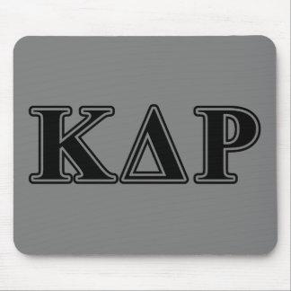 Phi Kappa de Zwarte Brieven van de Theta Muismat