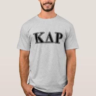 Phi Kappa de Zwarte Brieven van de Theta T Shirt
