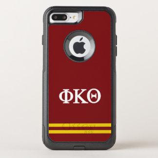 Phi Kappa Theta | de Streep van de Sport OtterBox Commuter iPhone 7 Plus Hoesje