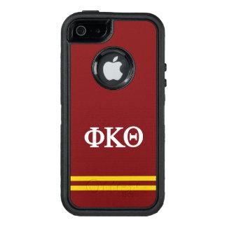 Phi Kappa Theta | de Streep van de Sport OtterBox Defender iPhone Hoesje