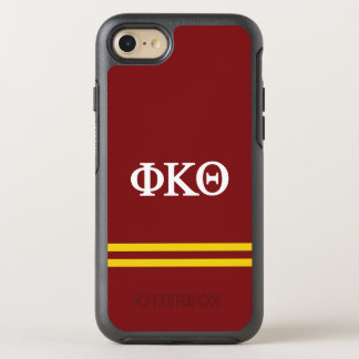 Phi Kappa Theta | de Streep van de Sport OtterBox Symmetry iPhone 8/7 Hoesje