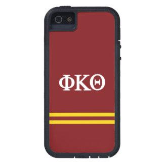 Phi Kappa Theta | de Streep van de Sport Tough Xtreme iPhone 5 Hoesje