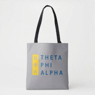 Phi van de theta Gestapeld Alpha- Draagtas