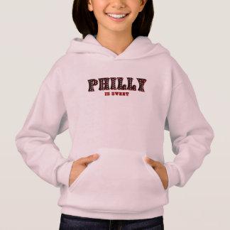 Philly is Hoodie van het Zoete Roze Kind