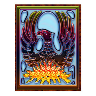 Phoenix die van Brand & As toenemen Briefkaart