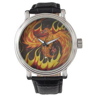 Phoenix in het Horloge van Vlammen
