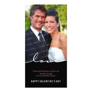 PHOTOCARD VAN VALENTIJN:: liefde waterscheiding 3 Gepersonaliseerde Fotokaarten