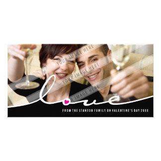 PHOTOCARD VAN VALENTIJN:: liefde waterscheiding 3L Gepersonaliseerde Fotokaarten