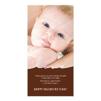 PHOTOCARD VAN VALENTIJN:: liefde waterscheiding 7P Persoonlijke Fotokaarten