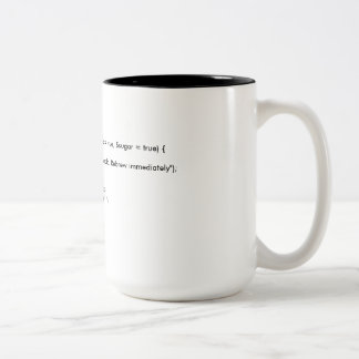 PHP van CoffeeMug Klasse Tweekleurige Koffiemok