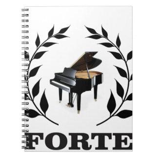 piano forte ringband notitie boek