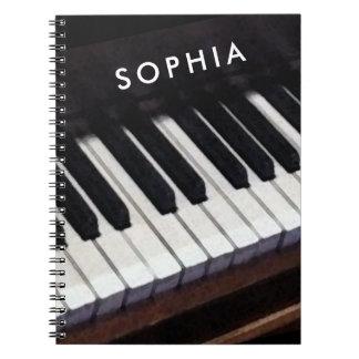 Piano Ringband Notitieboek