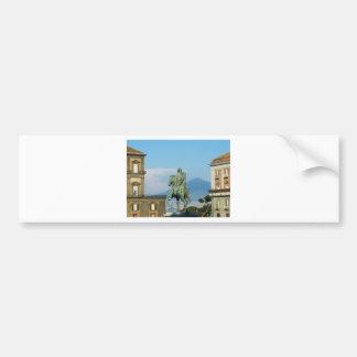Piazza del Plebiscito, Napels Bumpersticker