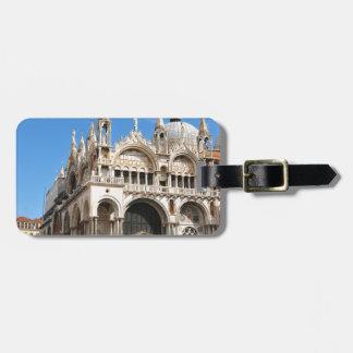 Piazza San Marco, Venetië, Italië Kofferlabel