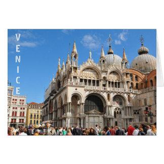 Piazza San Marco, Venetië, Italië Wenskaart