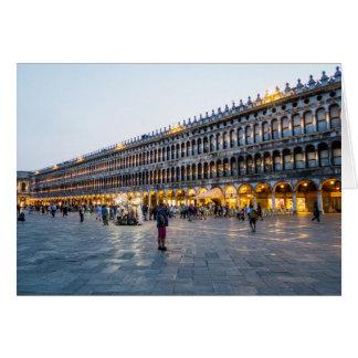 Piazza San Marco Wenskaart