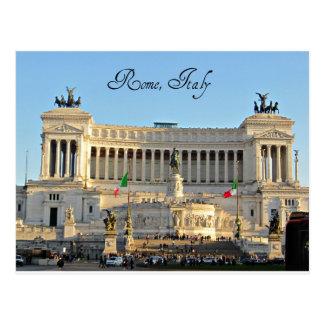 Piazza Venezia, Rome, Italië Briefkaart