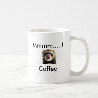 Pic van het fret, Mmmm .....! Koffie Koffiemok