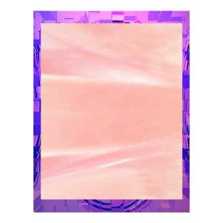 PIEPGELUID in mijn ROZE BLAUWE Wereld Flyer 21,6 X 27,9 Cm