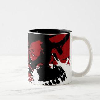 PiercingThorns.mug Tweekleurige Koffiemok