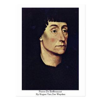 Pierre De Beffremont By Rogier van der Weyden Briefkaart