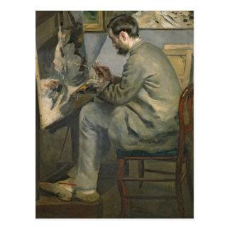 Pierre een Renoir | Frederic Bazille bij zijn Briefkaart