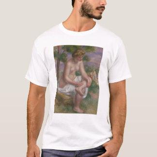 Pierre een Renoir | Gezette Zwemmer in een T Shirt