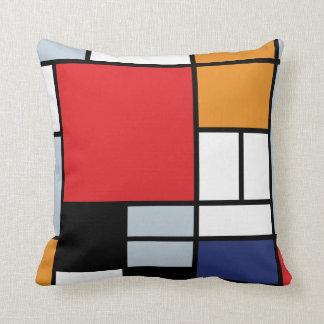 Piet Mondrian - Samenstelling met Groot Rood Sierkussen