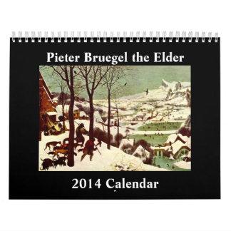 Pieter Bruegel de Oudere Kalender van 2014
