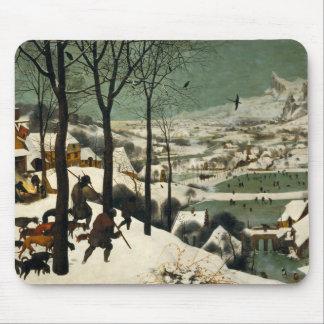 Pieter Bruegel Ouder - Jagers in de Sneeuw Muismat