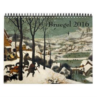 Pieter Bruegel Oudere 2016 Kalender