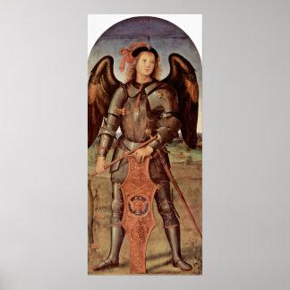 Pietro Perugino - Aartsengel Michael Poster