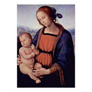 Pietro Perugino - Madonna Poster