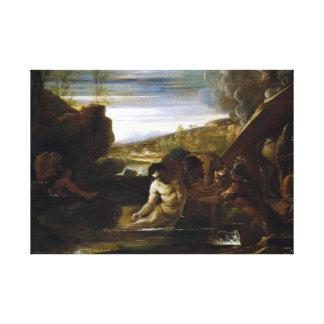Pietro Testa Alexander Gered Groot Canvas Print