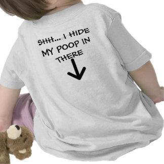 pijl-versla, SHH… IK VERBERG DAAR MIJN ACHTERSCHIP T-shirts