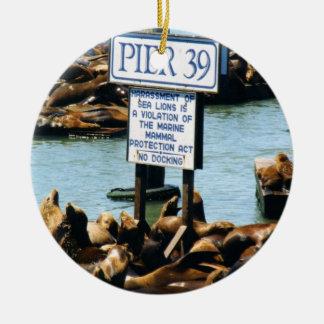 Pijler 39 het Ornament van Zeeleeuwen