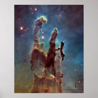 Pijlers van het Poster van de Druk van de