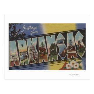 Pijnboom Bluff, Arkansas - de Grote Scènes van de Briefkaart