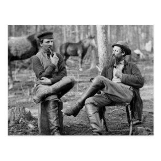 Pijpen van de Burgeroorlog, 1864 Briefkaart