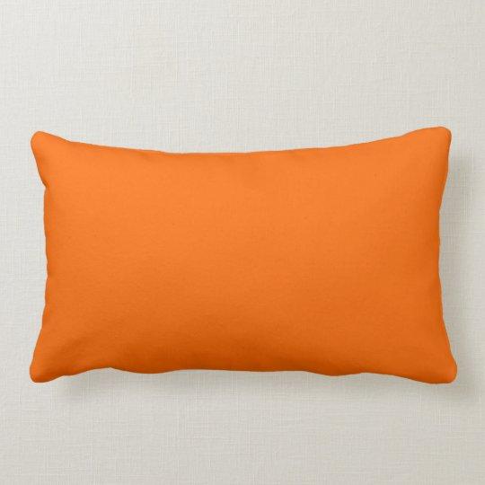 Pillow rectangle Orange Lumbar Kussen