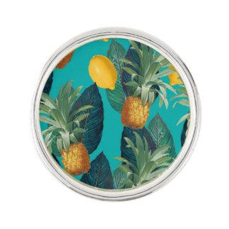 pineaple en citroenenwintertaling reverspeld