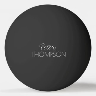pingpong monogram black_ball pingpongballen