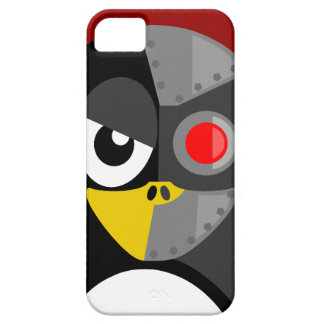 Pinguïn Cyborg Barely There iPhone 5 Hoesje