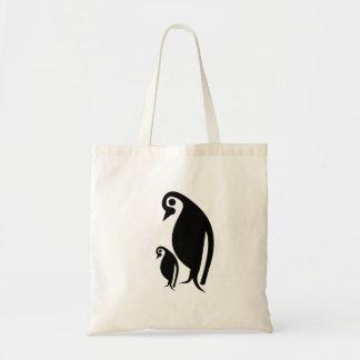 Pinguïn en Kuiken Draagtas