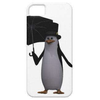 pinguïn en paraplu barely there iPhone 5 hoesje