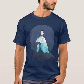 Pinguïn op Ijsberg als Orcha wordt gevormd die T Shirt