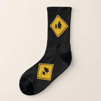 pinguïn verkeersteken - sokken